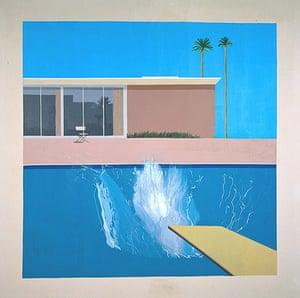 A Bigger Splash: A Bigger Splash 1967 by David Hockney