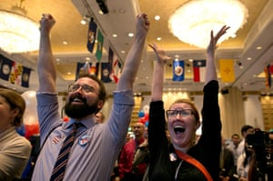 World election reaction: American Expats Gather To Watch Coverage Of The US Presidential Elections