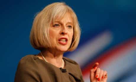Homer secretary Theresa May