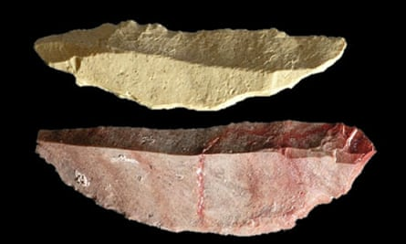 Stone blades discovered in South Africa
