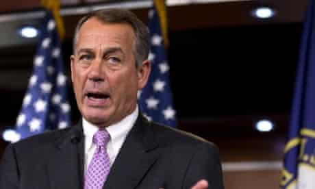 John Boehner on Capitol Hill