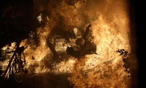 greece austerity protests violence