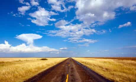 open road horizon