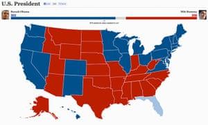 US election maps: Chicago Tribune election map