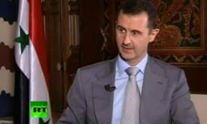 """Syrian President Bashar Assad vowed to """"to live in Syria and die in Syria"""" in an interview with Russia Today."""