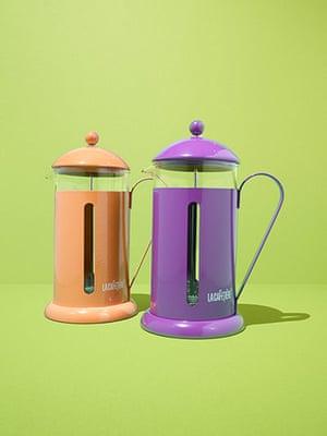 Gifts £10-£50: La Cafetière rainbow cafetiere