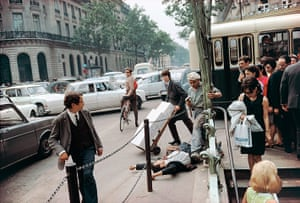 Joel Meyerowitz Monograph: A man has fallen in the street and others are only half interested