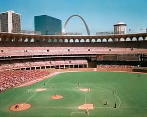 Joel Meyerowitz Monograph: An American Baseball field viewed from above