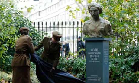 Noor Inayat Khan statue