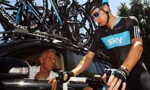 Shane Sutton and Bradley Wiggins