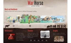 War Horse iPad app