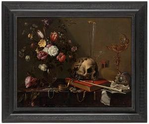 Death 2: Adrian Van Utrecht Vanitas Still Life