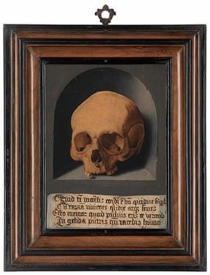 Death 2: A Skull in a Niche by Bathel Bruyn the elder