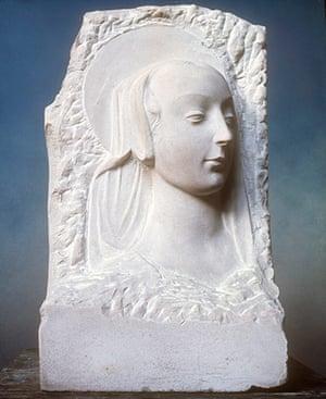 RCA 175 Years: Head of the Virgin, Henry Moore