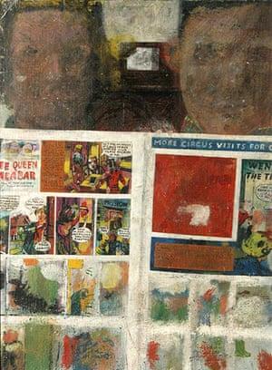RCA 175 Years: Children Reading Comics, Peter Blake,