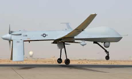 US air force Predator suveillance drone