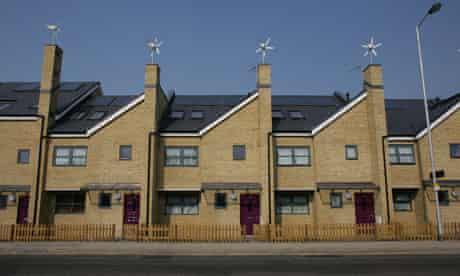Council houses in Croydon, London