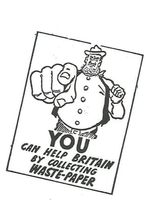 The Dandy: WWII recycling