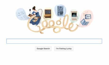 Ada Lovelace Google doodle