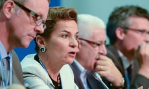 Christiana Figueres executive secretary of the UNFCCC