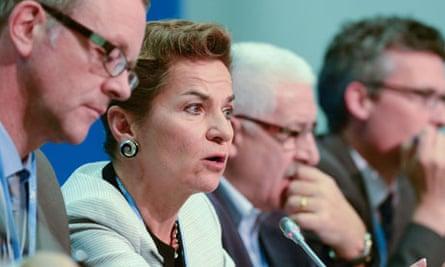 Christiana Figueres executive secretary of the UNFCCC