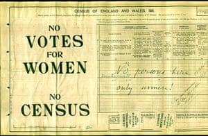 UK census: 1911 census