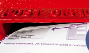 A copy of the 2011 census being posted.