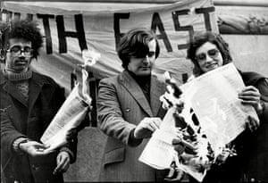 UK census: 1971 census protest