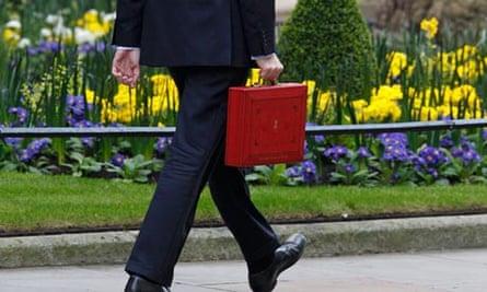 Budget red box chancellor