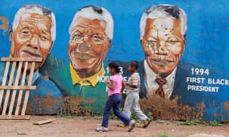 Nelson Mandela murals