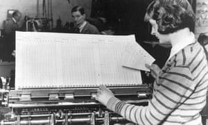 Census machine, 1931