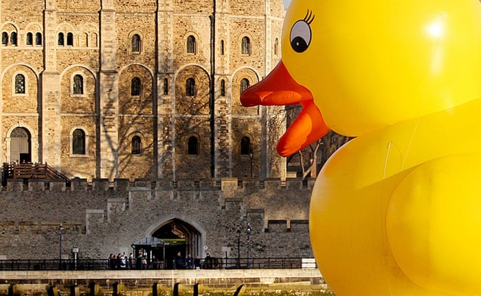 Giant rubber duck thrills London - in pictures | UK news | The Guardian