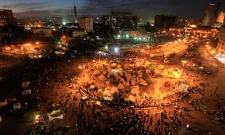 Anti-Morsi protesters Tahrir Square in Cairo