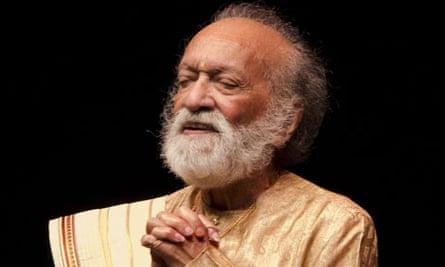 Ravi Shankar at 90 concert at the Barbican Centre