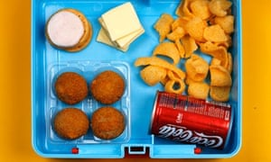 Campaigners Want To Tackle Unhealthy Eating Including School Lunches And Crackdown On Pre Watershed Advertising Of Junk Food Photograph David Levene For
