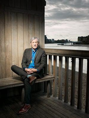 Observer Photography: Ian McKellen