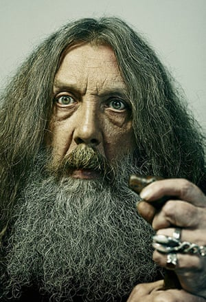 Observer Photography: Alan Moore