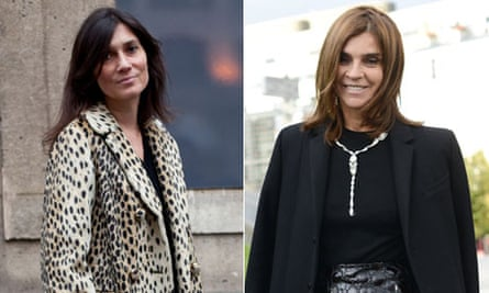 Year in fashion: Editors Emmanuelle Alt and Carine Roitfeld
