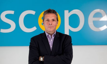 Richard Hawkes, chief executive of disability charity Scope
