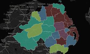 Northern Ireland identity mapped