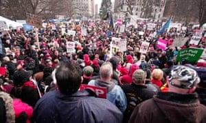 Michigan protests at capitol