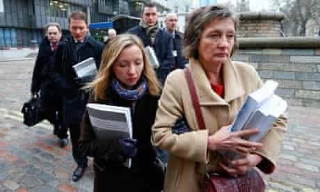 Geraldine Finucane, the widow of murdered Belfast solicitor Pat Finucane