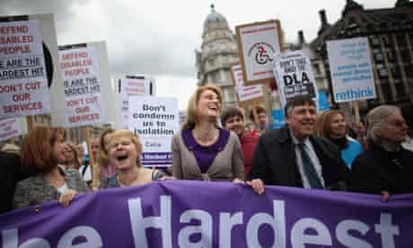 Hardest Hit Disability Protest