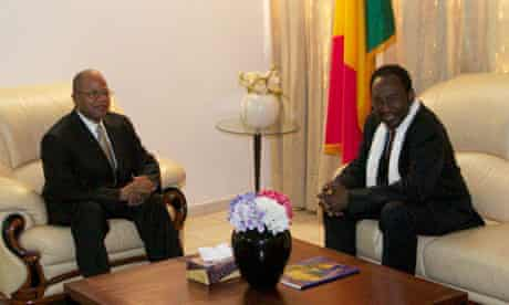 Mali's new Prime Minister Diango Cissoko