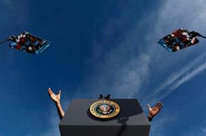 2012 in Science : The hands of U.S. President Barack Obama
