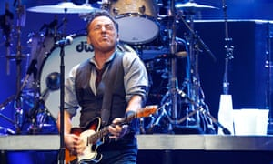 Springsteen performs during the 12.12.12 benefit concert for victims of Sandy at Madison Square Garden in New York.