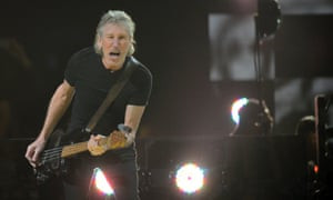 Roger Waters performs during 12.12.12. benefit concert for hurricane Sandy at Madison Square Garden in New York.