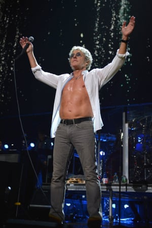 Roger Daltrey of The Who performs at the 12.12.12 Sandy benefit concert at Madison Square Garden in New York.