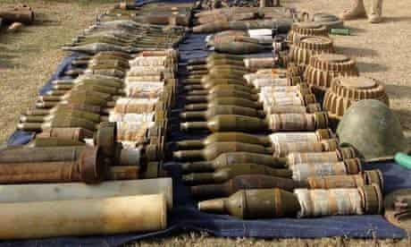 Taliban ammunition