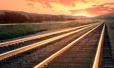 country railroad tracks
